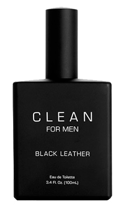 Clean For Men Black Leather